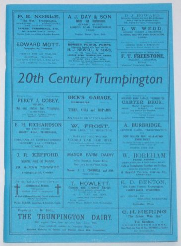 20th Century Trumpington, by S Brown